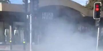 فیلم | 12 زخمی در برخورد خودرو به فروشگاه محصولات حجاب در استرالیا