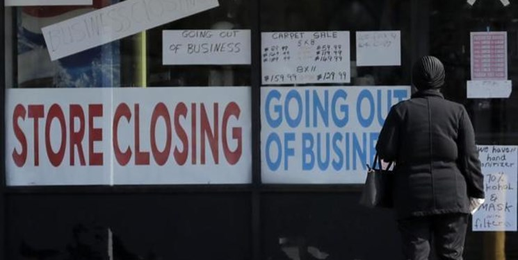 رکورد شکنی بیکاری در آمریکا
