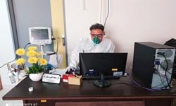 فیلم  مدافع سلامتی که کرونایی شد اما خدمتش متوقف نشد
