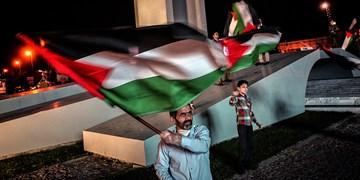 کاروان خودرویی همبستگی با ملت فلسطین