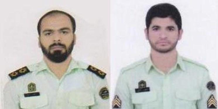 بازدید فرمانده انتظامی سیستان و بلوچستان از محل شهادت ماموران انتظامی در سرباز