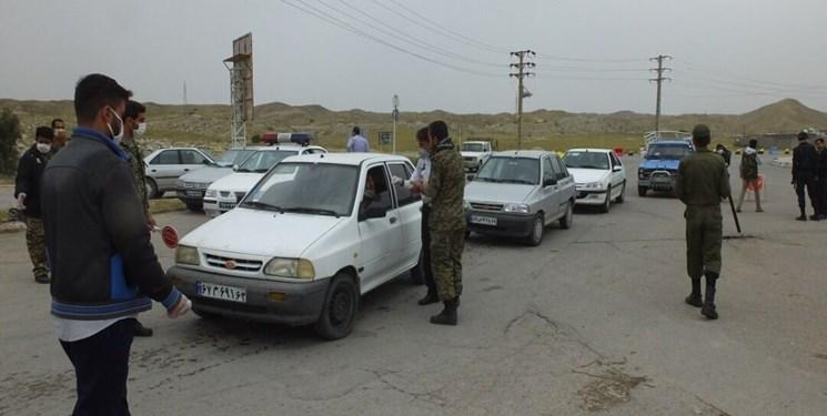اعمال محدودیتهای ترافیکی در دزفول برای جلوگیری از ترددهای غیرضروری