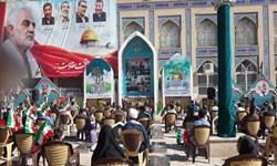 برگزاری مراسم گرامیداشت سوم خرداد در گلزار شهدای کرمان
