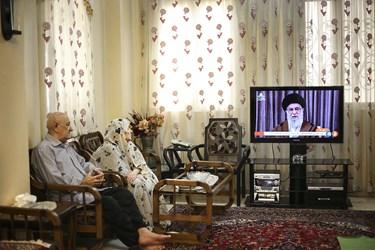 سخنرانی تصویری رهبرانقلاب به مناسبت روز جهانی قدس