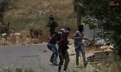 حمله نظامیان صهیونیست به فلسطینیان در شمال کرانه باختری