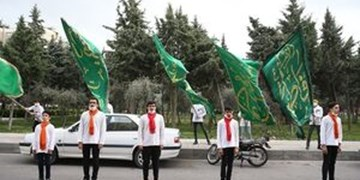 فیلم| اجرای گروه سرود در سرخس به مناسبت روز جهانی قدس
