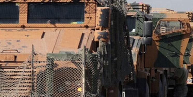 ترکیه یک کاروان لجستیکی دیگر به مناطق اشغالی در سوریه ارسال کرد