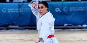 صادقی: می خواهم جز نفرات المپیکی کاراته باشم