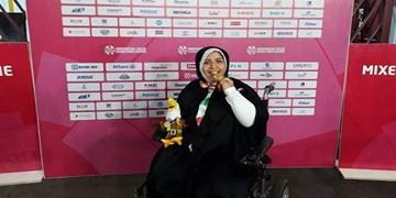 دارابیان: آرزویم کسب مدال پارالمپیک است/ ایستادن روی سکو با حجاب غرورآفرین بود