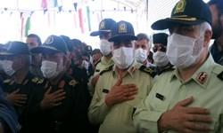 رئیس پلیس آگاهی ناجا؛ رشادت شهدا رمز پایداری و امنیت کشور است+تصاویر