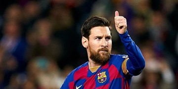 مسی انفرادی تمرین کرد/بارسلونا بیانیه داد