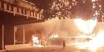 انفجار خودروی حامل سوخت در پایتخت ونزوئلا