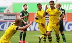 بوندس لیگای آلمانی| پیروزی خارج از خانه دورتموند و لورکوزن