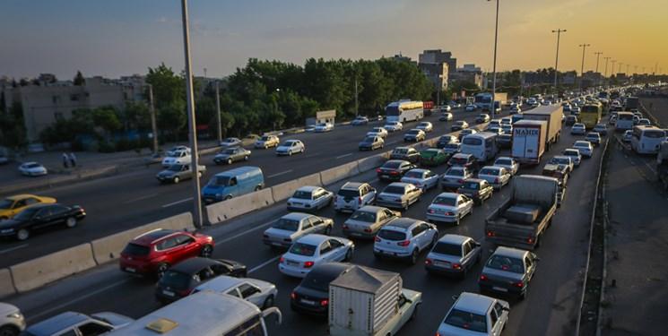 ترافیک سنگین در هراز و کندوان/تردد پرحجم خودرو بین تهران و قزوین