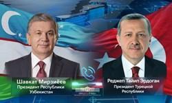 کریدورهای حمل و نقلی محور رایزنی رؤسای جمهور ازبکستان و ترکیه