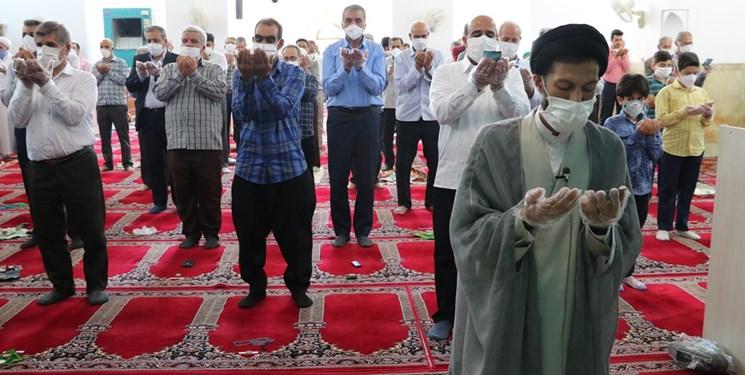 اقامه نماز عید سعید فطر در اردکان