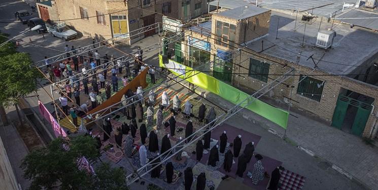 نماز عید فطر در استان سمنان