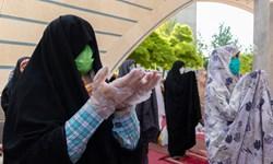 نماز عید فطر در دانشگاه شیراز