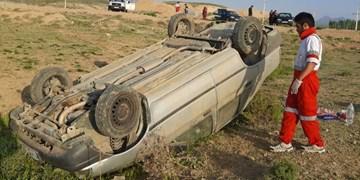 واژگونی پراید در محور فولادمحله- کیاسر/ ۴ نفر مصدوم شدند