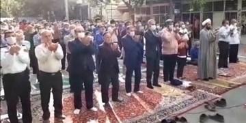 فیلم  نجوای شکرگزاری اهالی ورامین در عید بندگی