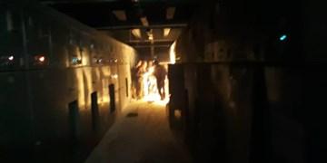 مهار آتشسوزی نیروگاه تبریز/ مشکلی در تولید برق نیروگاه وجود ندارد+ عکس