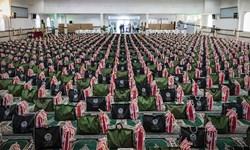 فیلم| رزمایش مومنانه در تنگستان با توزیع 1000 بسته معیشتی