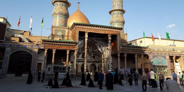 بازگشایی محدود صحنهای حرم حضرت عبدالعظیم(ع)