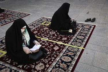 بازگشایی صحنهای حرم حضرت عبدالعظیم(ع)