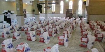 توزیع بستههای معیشتی بسیج دانشجویی در شاهرود+ تصاویر
