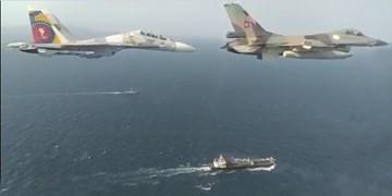 اسکورت «فارست» با جنگندههای ونزوئلا