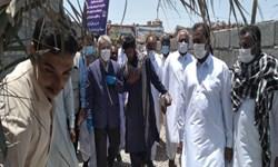 بهرهبرداری از واحدهای مسکن ویژه محرومین با حضور محمدباقر نوبخت در ایرانشهر