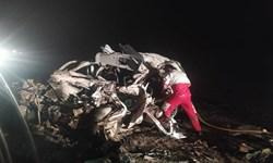 4 کشته و 5 مجروح در حادثه تصادف محور فهرج - زاهدان