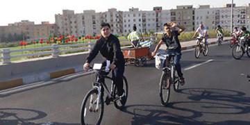 ایجاد مسیر دوچرخه بر روی پلهای بزرگراه شهید چراغی