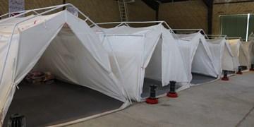 آماده سازی اسکان اضطراری به مساحت ۱۵هکتار در دماوند