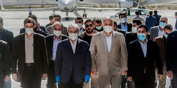 بازدید«سردار محمد و نوبخت » از خط آهن چابهار-زاهدان
