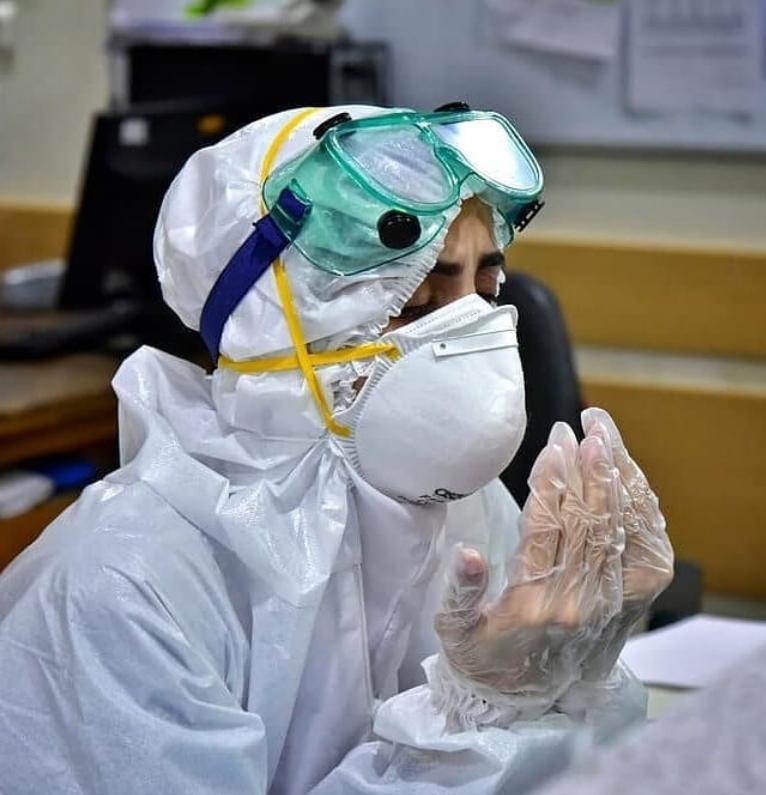 13990306000839 Test NewPhotoFree - ماجرای پرستار داوطلب باردار و  بخش بیماران کرونایی/ استقبال بغض آلود کادر درمان از جهادگران داوطلب