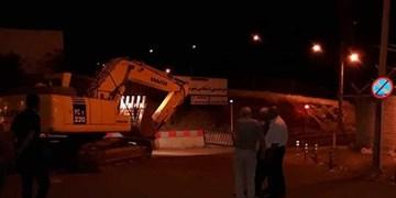 متصرفین اراضی ملی در کمربندی اسلامآباد سنندج توقیف شدند