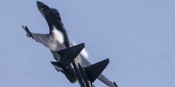 رهگیری یک ساعته هواپیمای جاسوسی آمریکا توسط دو سوخو-35 روس