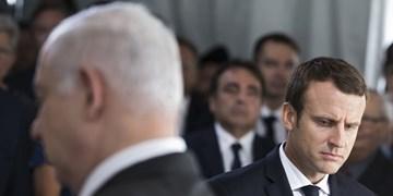 ماکرون هم از نتانیاهو خواست طرح اشغال را کنار بگذارد