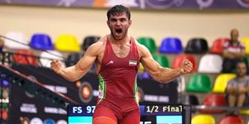 کشتی قهرمانی آسیا| شعبانی به مدال طلا دست یافت