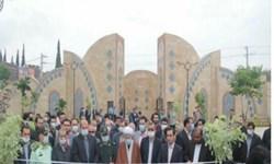 فارس من| حضور تعدادی بانوان در مراسم افتتاح/ نام پارک بانوان تغییر نمیکند