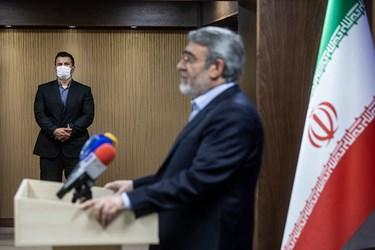 مصاحبه خبری رحمانی فضلی در حاشیه جلسه کمیته امنیتی، اجتماعی و انتظامی مدیریت کرونا