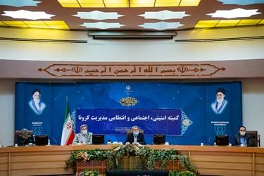 سخنرانی  رحمانی فضلی، وزیر کشور در جلسه کمیته امنیتی، اجتماعی و انتظامی مدیریت کرونا