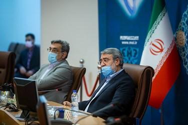 رحمانی فضلی، وزیر کشور در جلسه کمیته امنیتی، اجتماعی و انتظامی مدیریت کرونا