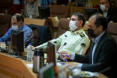 حضور سردار ساجدی نیا در جلسه کمیته امنیتی، اجتماعی و انتظامی مدیریت کرونا
