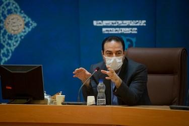 سخنرانی رئیسی، معاون وزیر بهداشت در جلسه کمیته امنیتی، اجتماعی و انتظامی مدیریت کرونا