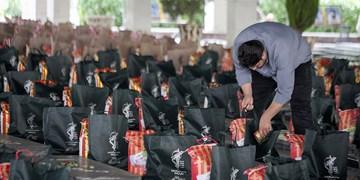 کمک مومنانه| توزیع 5 هزار بسته معیشتی بین نیازمندان پلدختر