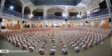 توزیع ۶۵ هزار بسته کمک مومنانه در ملایر