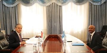دیدار وزیر خارجه تاجیکستان و رئیس دفتر یونیسف در «دوشنبه»