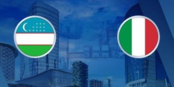 مقامات ازبکستان و ایتالیا بر افزایش همکاریهای دوجانبه تاکید کردند